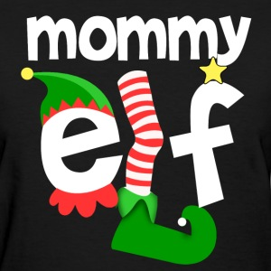 Mommy Elf Women's T-Shirts - Women's T-Shirt