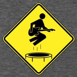 Caution.  Trampolines. - Women's T-Shirt