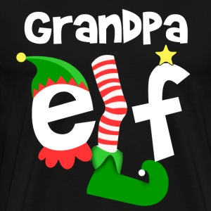 Grandpa Elf T-Shirts - Men's Premium T-Shirt