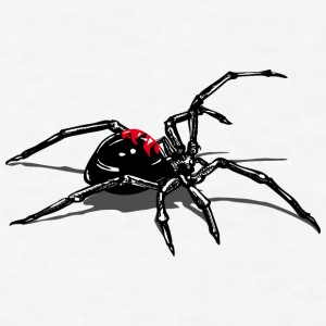 black widow attack T-Shirts - Men's T-Shirt