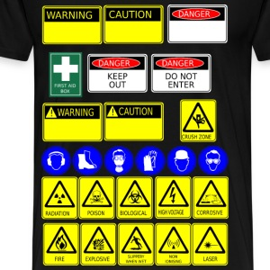 safety signs - Men's Premium T-Shirt