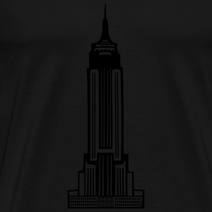 Empire State Building - Men's Premium T-Shirt