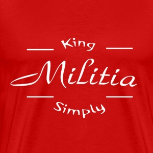 King Militia Simply - Men's Premium T-Shirt