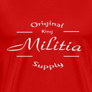 King Militia Simply 2 - Men's Premium T-Shirt