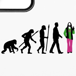 evolution_of_man_hippie_112014_b_3c Accessories - iPhone 6/6s Rubber Case
