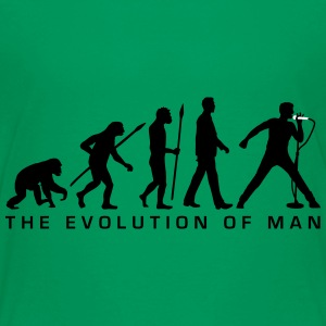 evolution_of_man_singervocalist_112014_a Kids' Shirts - Kids' Premium T-Shirt