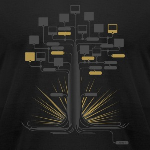 Node Nuke T-Shirts - Men's T-Shirt by American Apparel