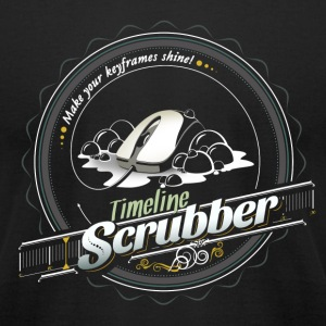 Timeline Scrubber T-Shirts - Men's T-Shirt by American Apparel