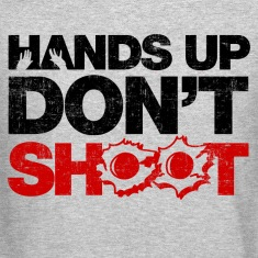 Hands Up Don't Shoot Long Sleeve Shirts