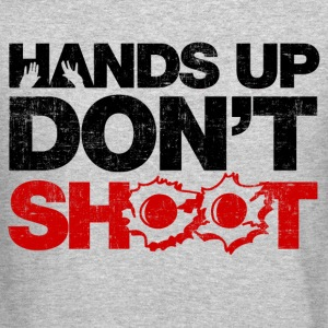 Hands Up Don't Shoot Long Sleeve Shirts - Crewneck Sweatshirt