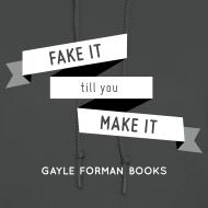 Design ~ Fake It Women's Hoodie