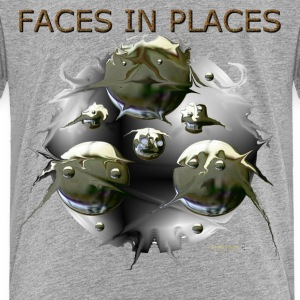 FACES IN PLACES Baby & Toddler Shirts - Toddler Premium T-Shirt