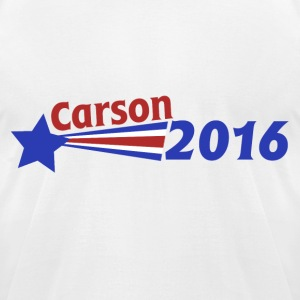 Ben Carson 2016 - Men's T-Shirt by American Apparel