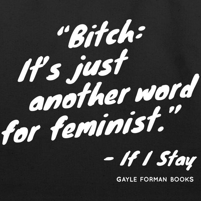 Feminist Tote Large