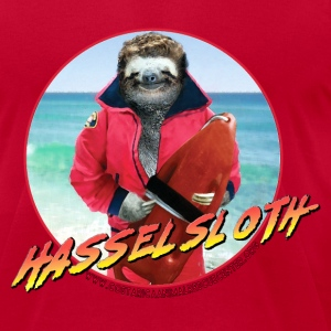 HASSELSLOTH - Don't Hassel The Sloth! T-Shirts - Men's T-Shirt by American Apparel