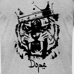 Dope tiger T-Shirts - Men's T-Shirt by American Apparel