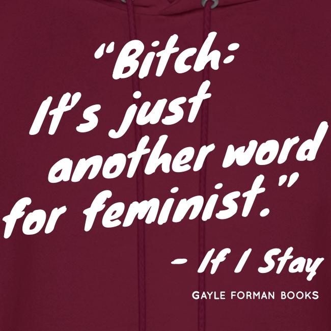 Feminist Men's Hoodie