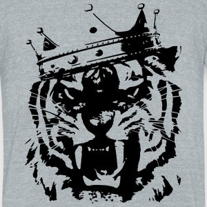 Tiger king T-Shirts - Unisex Tri-Blend T-Shirt by American Apparel