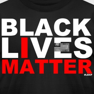 Black Lives Matter  T-Shirts - Men's T-Shirt by American Apparel