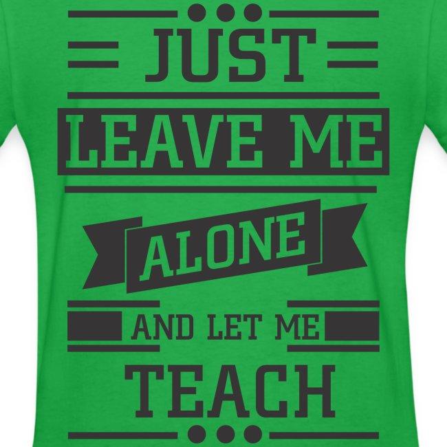 Let Me Teach (Double Sided)