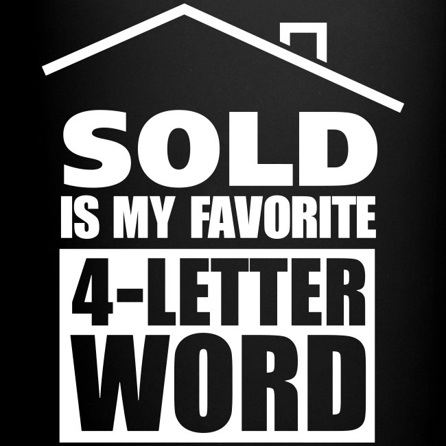 Lighter side of real estate favorite 4 letter word right mug favorite 4 letter word right mug expocarfo Gallery