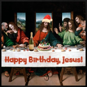 Happy Birthday, Jesus! T-Shirts - Men's T-Shirt