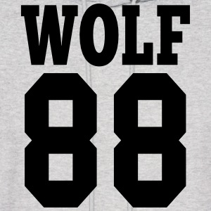 ♥♫I Love EXO Wolf 88 Hooded Sweatshirt♪♥ - Men's Hoodie