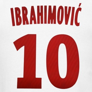 Ibrahimovic 10 - Men's T-Shirt