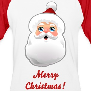 Customizable Santa - Baseball T-Shirt