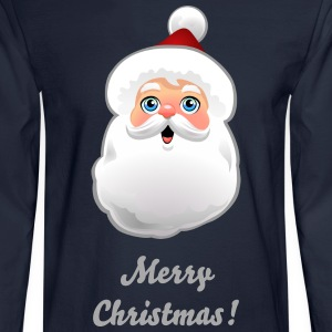 Customizable Santa - Men's Long Sleeve T-Shirt