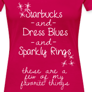 Design ~ Starbucks, Dress Blues & Sparkly Rings