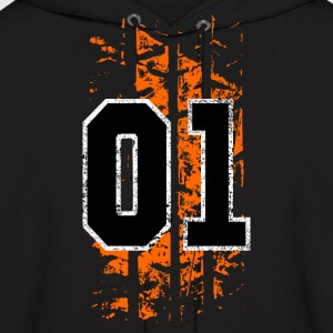 general lee tire mark - Men's Hoodie
