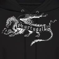 Design ~ New Shur'tugal Logo (WHITE Ink - Unisex)