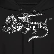 Design ~ New Shur'tugal Logo (WHITE Ink - Unisex)