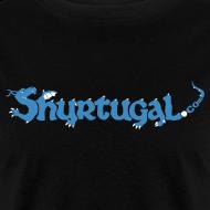 Design ~ Original Shur'tugal Logo (Blue Ink - Unisex)