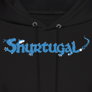 Design ~ Original Shur'tugal Logo (BLUE Ink - Unisex)