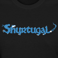 Design ~ Original Shur'tugal Logo (Blue Ink - Women)