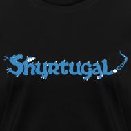 Design ~ Original Shur'tugal Logo (Blue Ink - Women)
