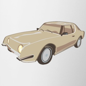 Gold Studebaker Avanti illustration - Autonaut.com - Coffee/Tea Mug