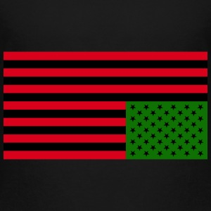 Black American Distress: Kid's Premium T-Shirt - Kids' Premium T-Shirt