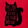Are You Kitten Me Right Meow - Kids' T-Shirt