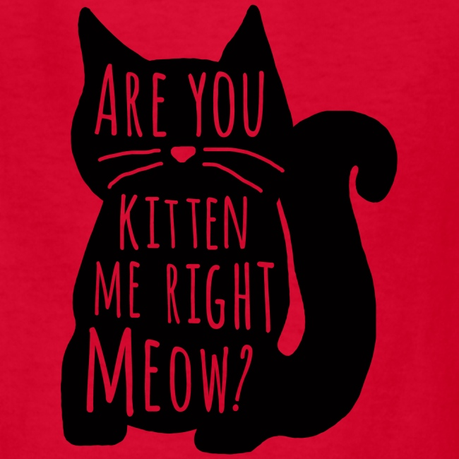 Are You Kitten Me Right Meow