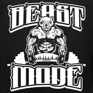 Beast-Mode Sports Gym - Men's Premium Tank