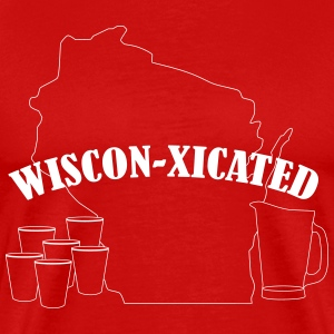 Wiscon-xicated - Men's Premium T-Shirt