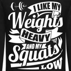 Heavy Weights Squats Gym