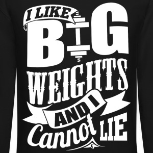 Weights Gym Workout - Crewneck Sweatshirt