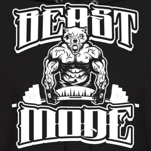 Beast-Mode Gym Workout - Men's Hoodie