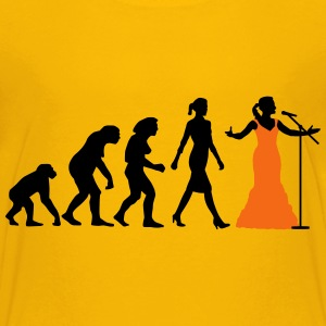 evolution_female_opera_singer_112014_b_2 Kids' Shirts - Kids' Premium T-Shirt