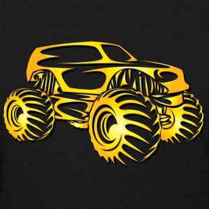Monster Truck Cutout Women's T-Shirts - Women's T-Shirt