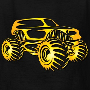 Monster Truck Cutout Kids' Shirts - Kids' T-Shirt